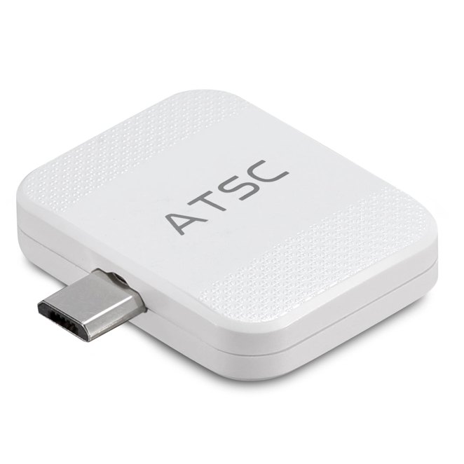 ATSC Android Pad/Phone TV Receiver Use for Android phone or pad micro USB OTG dongle