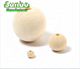 Wholesales Beech Wooden Balls 50mm with hole