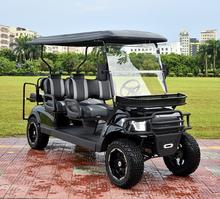 Electric Tourism Vehicle,8 passenger electric golf cart