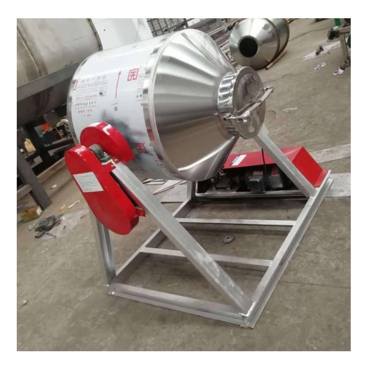 Industrial detergent powder machine mixer pvc plastic powder blender mixing