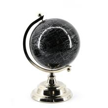 Modern style custom home decorative Christmas gift desktop plastic world earth globe