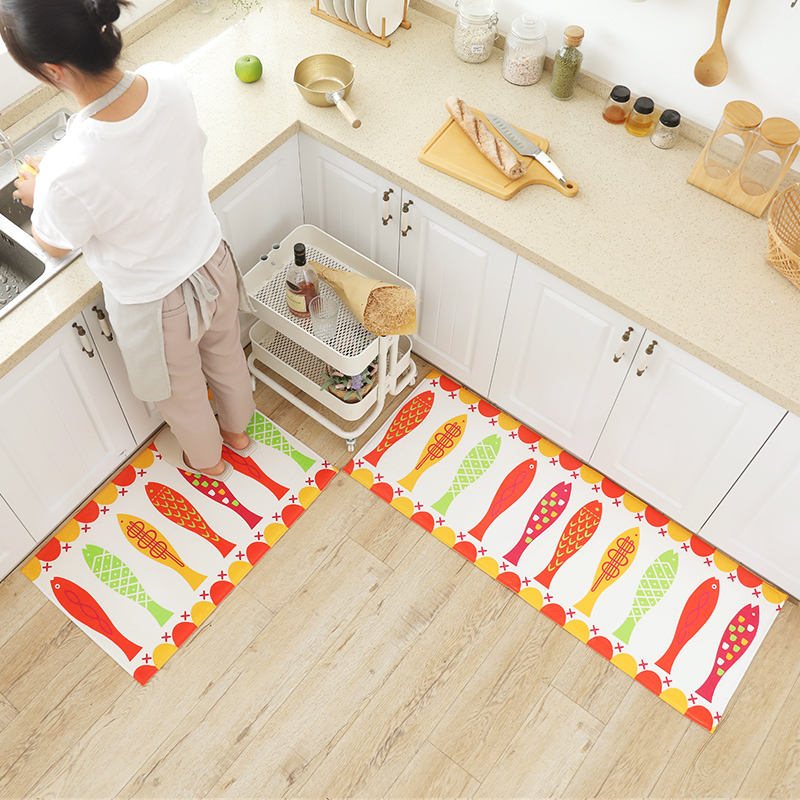 Factory Directly Provide non-slip bathroom mat anti fatigue memory foam kitchen waterproof mat