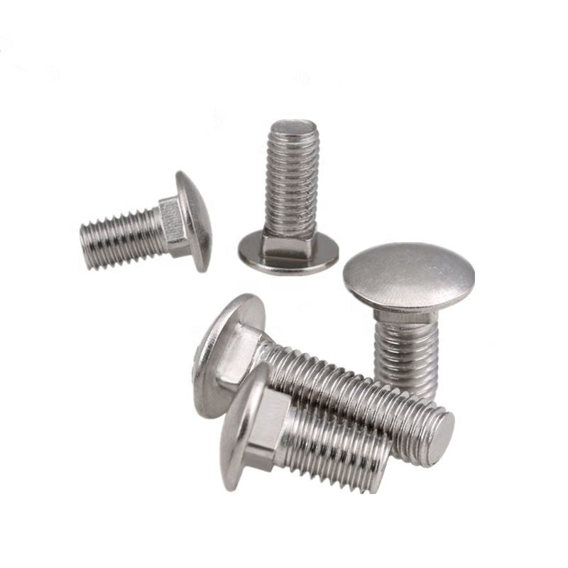 DIN603 Stainless Steel M8 Carriage Bolt