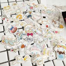 40pcs/bag high quality waterproof hand account Big eared dog Cinnamoroll cute stickers for diary notebook