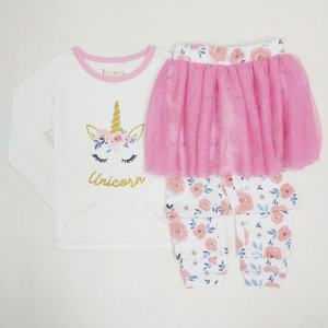 Children clothing girls clothing wholesale kids clothes new fashion design 2020 girls clothes print tshirts and dress