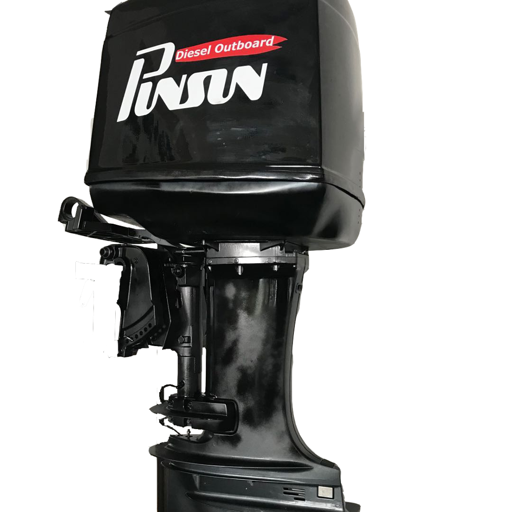 diesel outboard motor 40hp diesel outboard motors water cooled 2 cylinders 4 stroke diesel engine PD40-OH