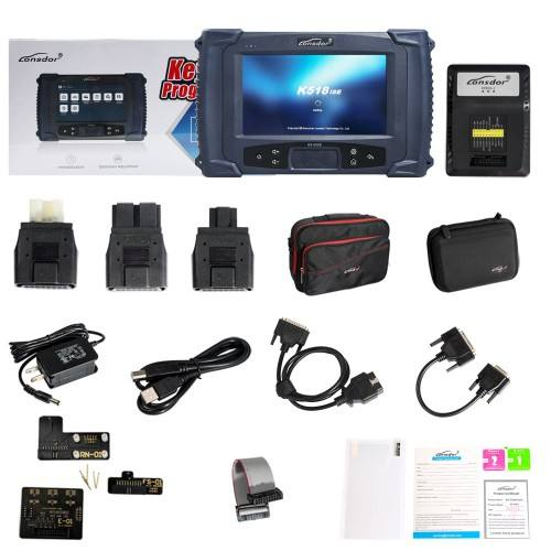 The Newest Lonsdor K518S Key Programmer for All Key Lost with Mileage Correction Tool with Emulator