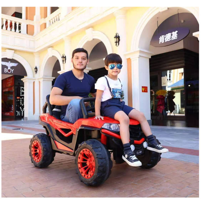 2020 China New Wholesale 12V10Ah Four Engin Two Seats Remote Control Kids Ride On Jeep Car