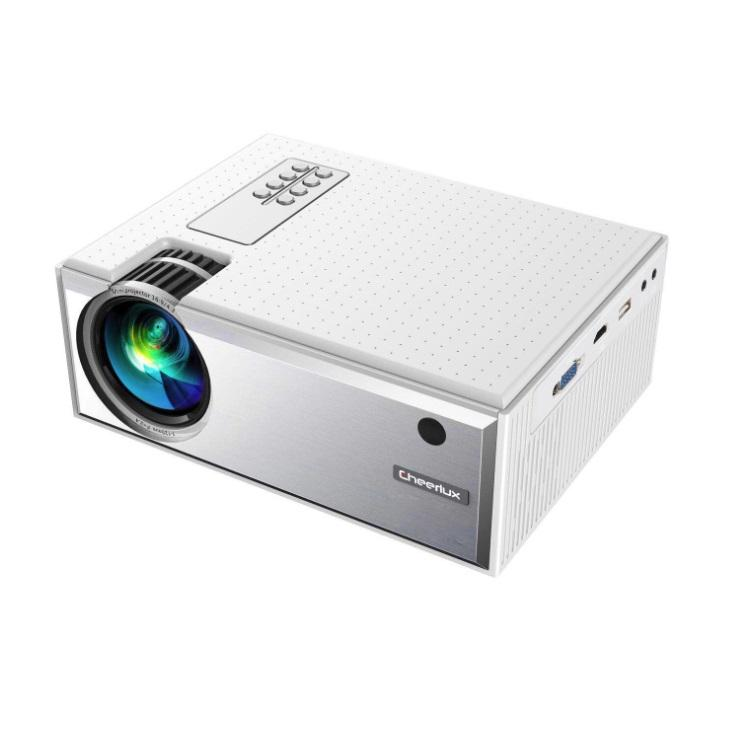 Cheerlux HD LED digital projector home theater system support 1080P with 1800 lumens HD video projector