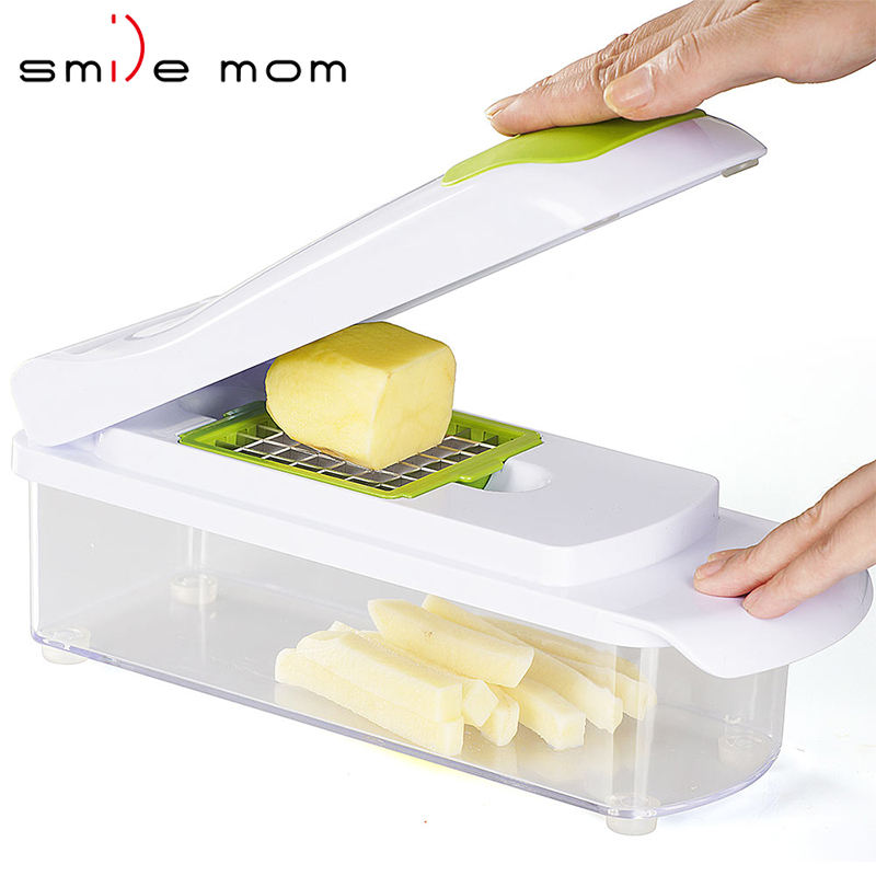 BEST SELL multi function manual slicer grater dicer super slicer plus vegetable fruit peeler dicer cutter chopper potato dicer