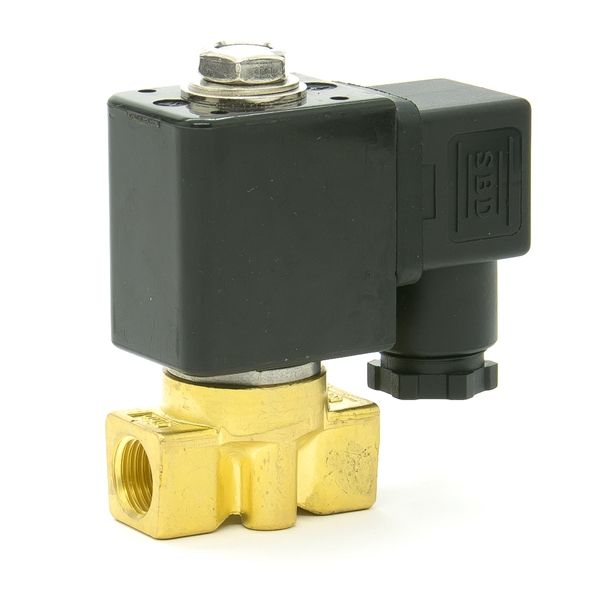 Water heater solenoid valve 1/4 inch brass or stainless steel