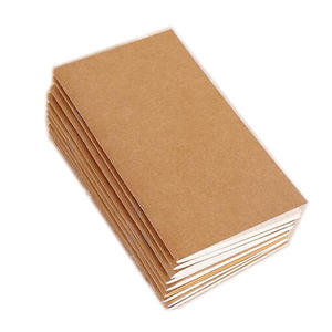 21*11cm Standard Kraft Paper Notebook Blank Dot Grid Journal Traveller's Notebook Refill Planner Organizer Filler Paper