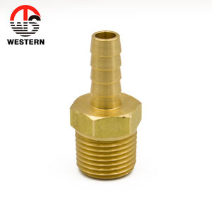 brass BSP NPT thread barbed nozzle end garden air hose fittings