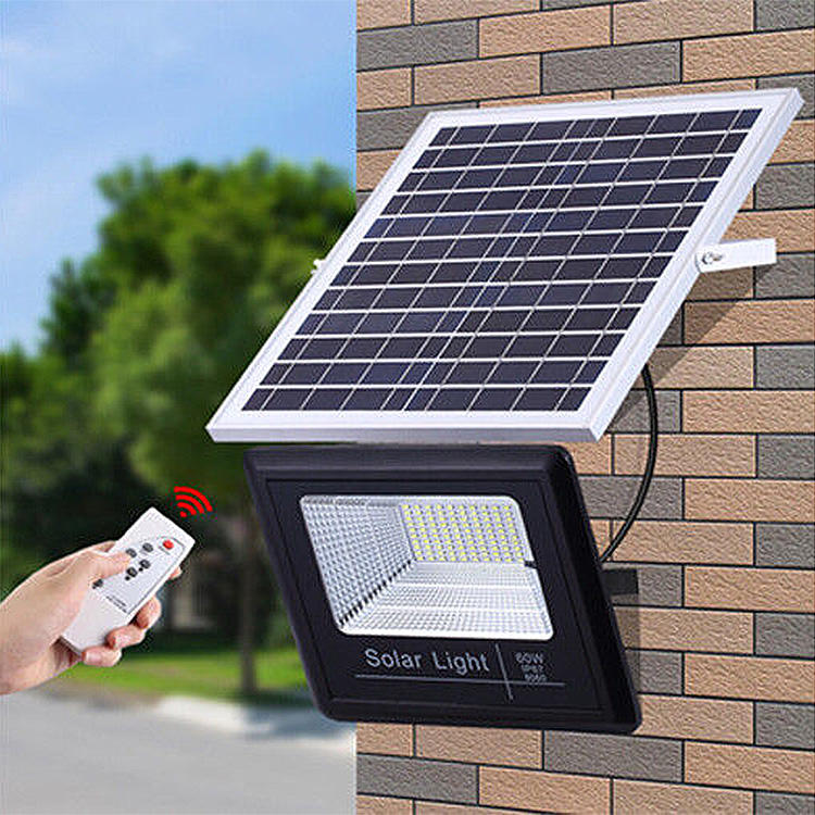 Anern hot sale SMD2835 outdoor solar led wall light 60 watt
