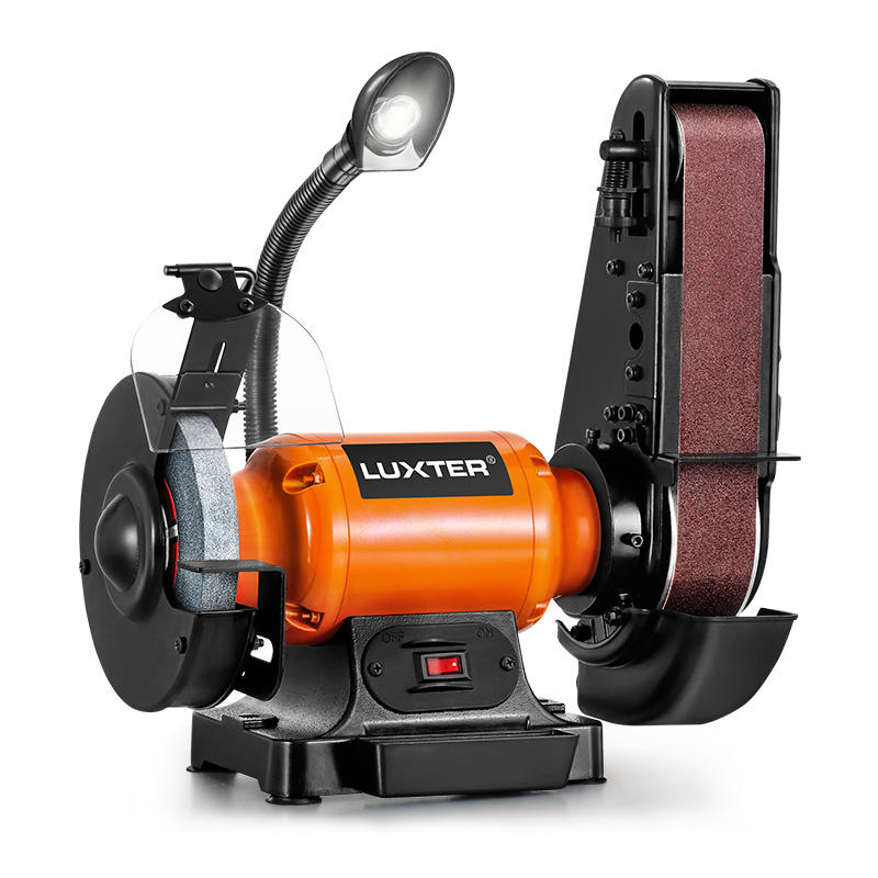 LUXTER 150mm 250W <span class=keywords><strong>ספסל</strong></span> <span class=keywords><strong>מטחנת</strong></span> החגורה