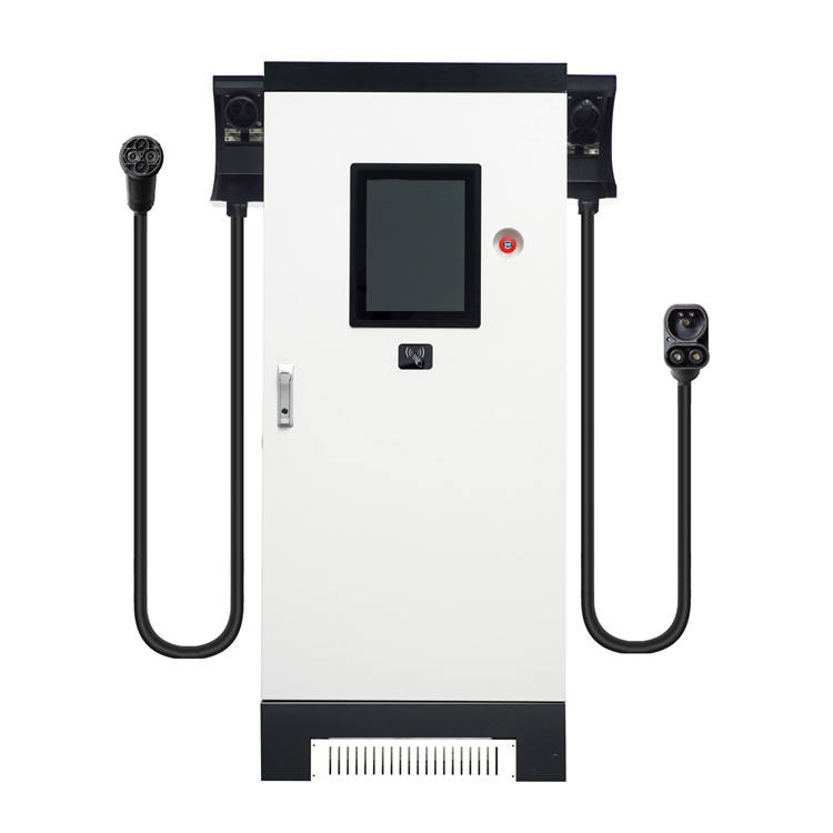 Commercial High Power 200kw DC Quick EV Chargers Station with CCS+CHAdeMO 2 outlet support dynamic power share