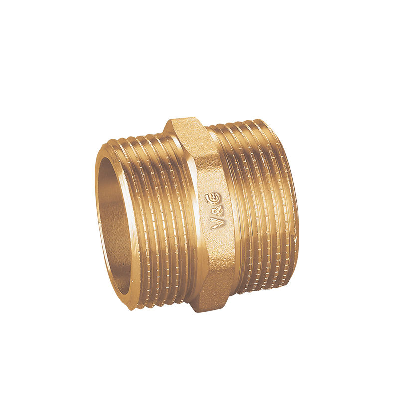 1/2 - 2 Inch Cheap Wholesale External Thread Brass Nipple Fittings