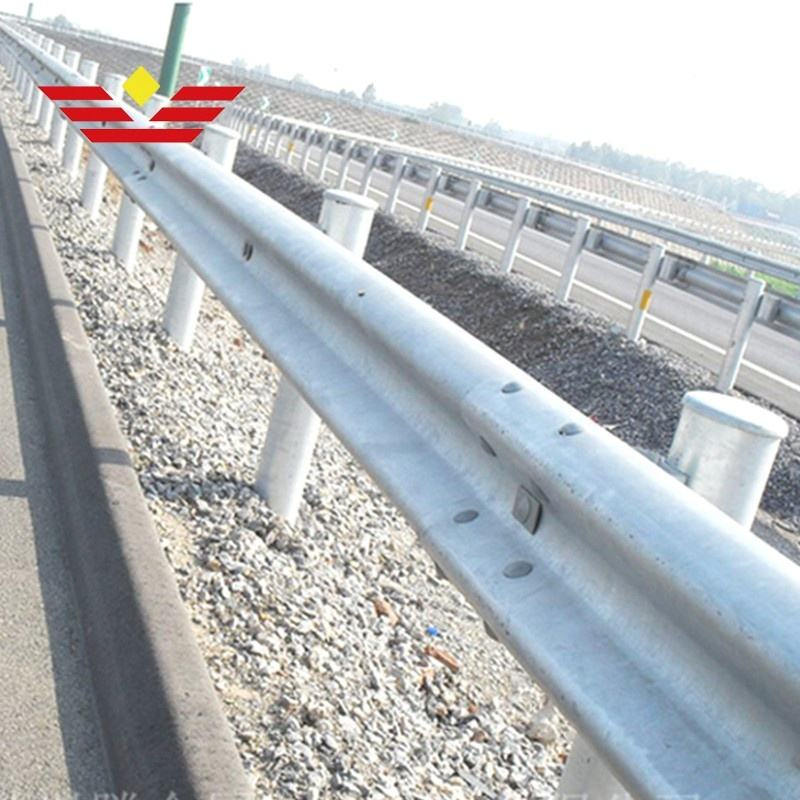 galvanized traffic safety barrier roadway guardrail metal beam crash barrier price