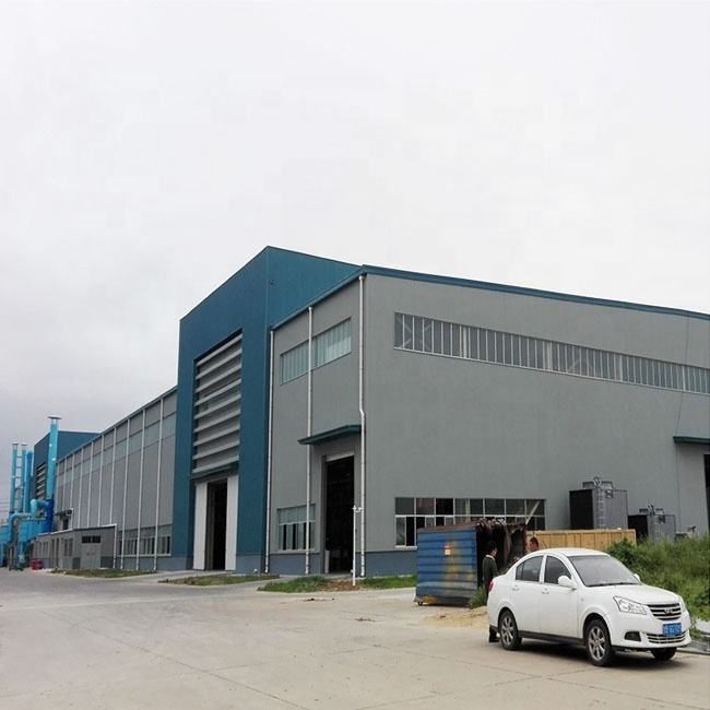 Steel structure prefabricated overhead crane plant factory workshop building