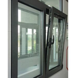 Aluminium Top Boog Half Moon Windows Met Vaste Venster Op Top