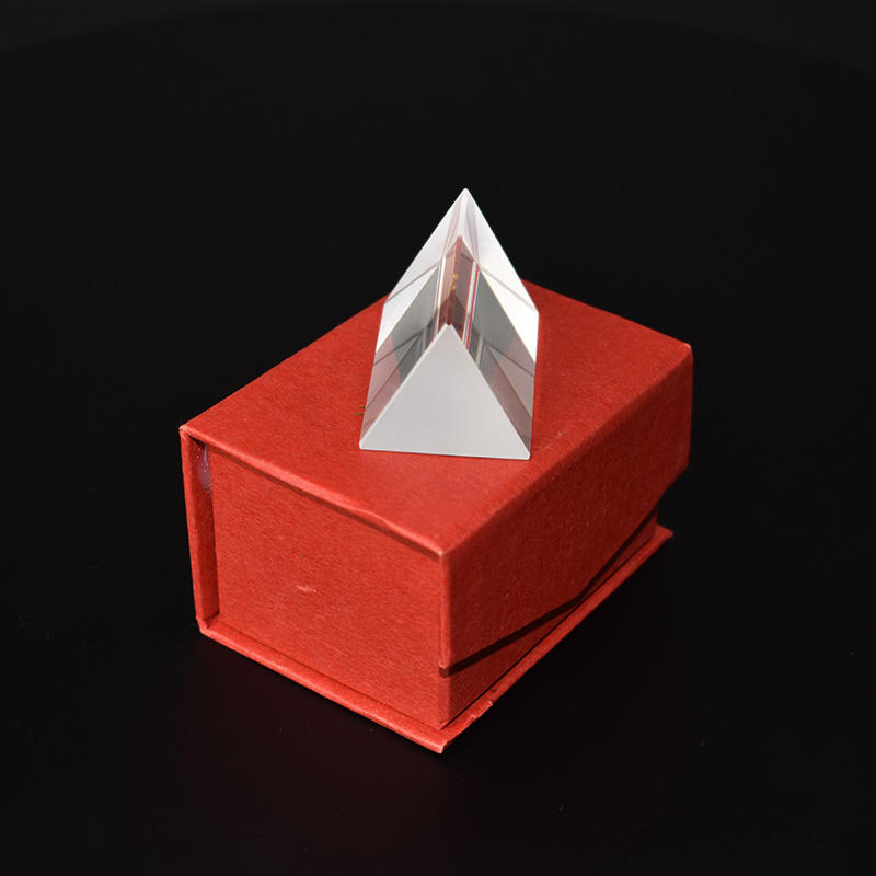 Wholesale 150mm glass equilateral triangular prism for photography