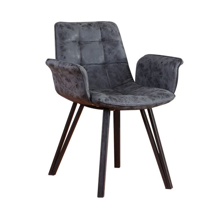 Free Sample Cheap Bazhou Wholesale Modern PU Leather Dining Chair Price for Sale