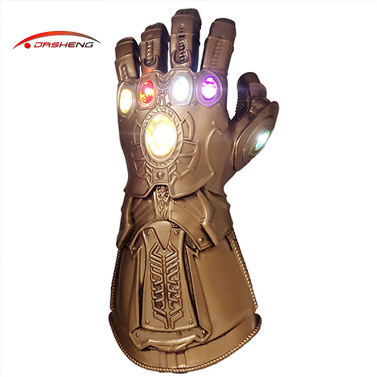 Dasheng supplier Thanos gloves winter boxing led flashlight glove