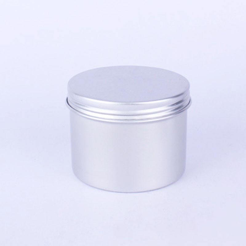 120ml100g de aluminio roscada de productos secos latas de té de crema en polvo de caja de aluminio