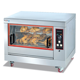 Stainless Steel Mobile Commercial Electric Chicken Rotisserie Oven