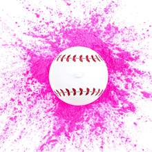 Gender Reveal Baseball Baby Shower Gender Reveal Party Supplies Pink Exploding Powder Baseball