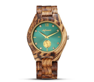 Shifenmei Women Wood Watch Ladies Automatic Wrist Wristwatches Quartz Watches Luxury Brand Fashion Wife's Gifts Relogio Feminino