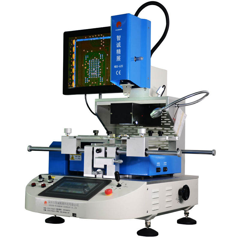 Manufacture Professional SMT BGA Rework Station Machine WDS-620 electric welding tool for Macbook Logic Board Repair