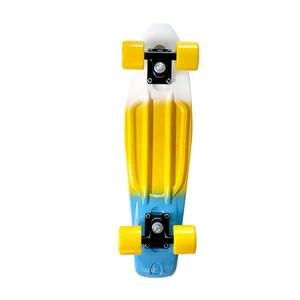 Outdoor Sport penny board Custom Design Three-colour Cute Plastic Skateboard