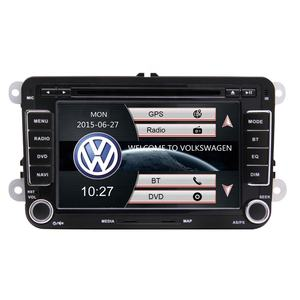 Doppio Din 7 pollici Touch Screen Auto Lettore DVD Con Il GPS Bluetooth di Sostegno FM AM Radio TF USB Per VW amarok Beetle Polo Golf Eos