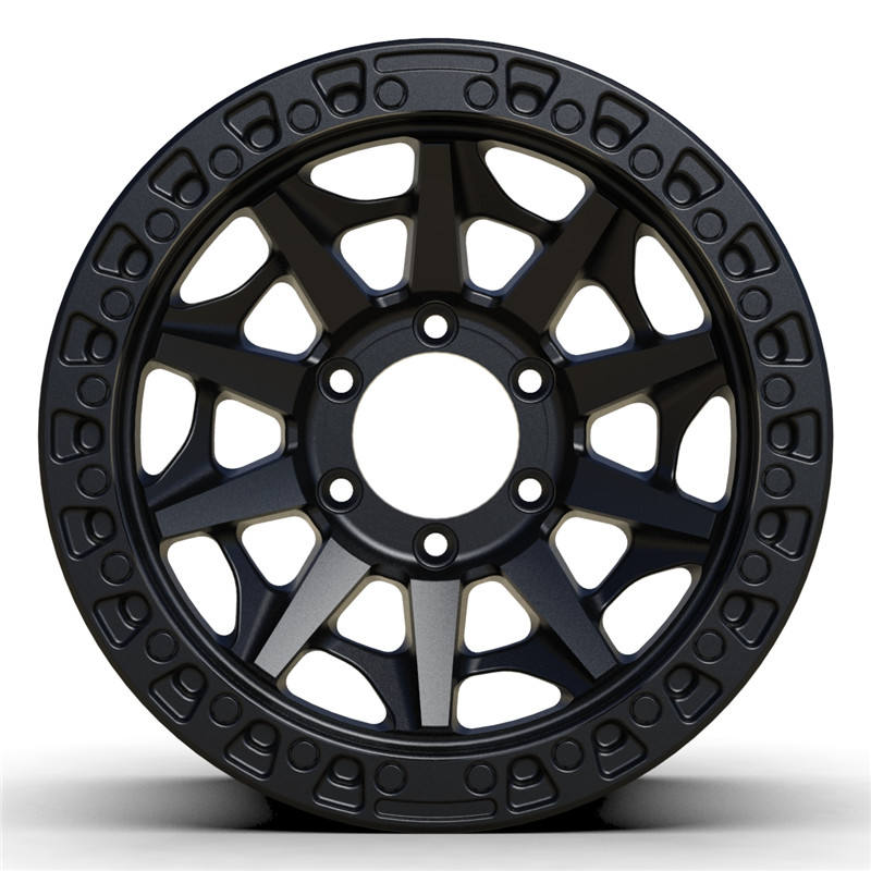 OR003 Customized Color 17 inch 5x150 6x139.7 off road alloy wheels For Pickup Truck