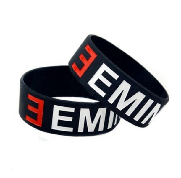 HOT selling 1PC EMINEM silicone bracelet