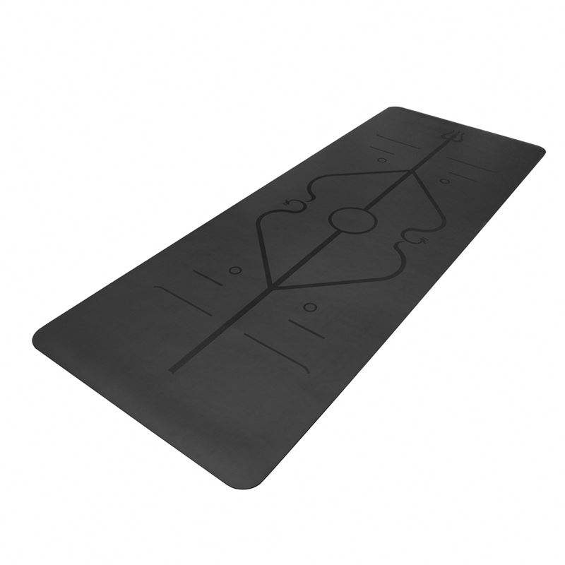 Superior waterproof dropship customised PU yoga mat 5mm eco friendly