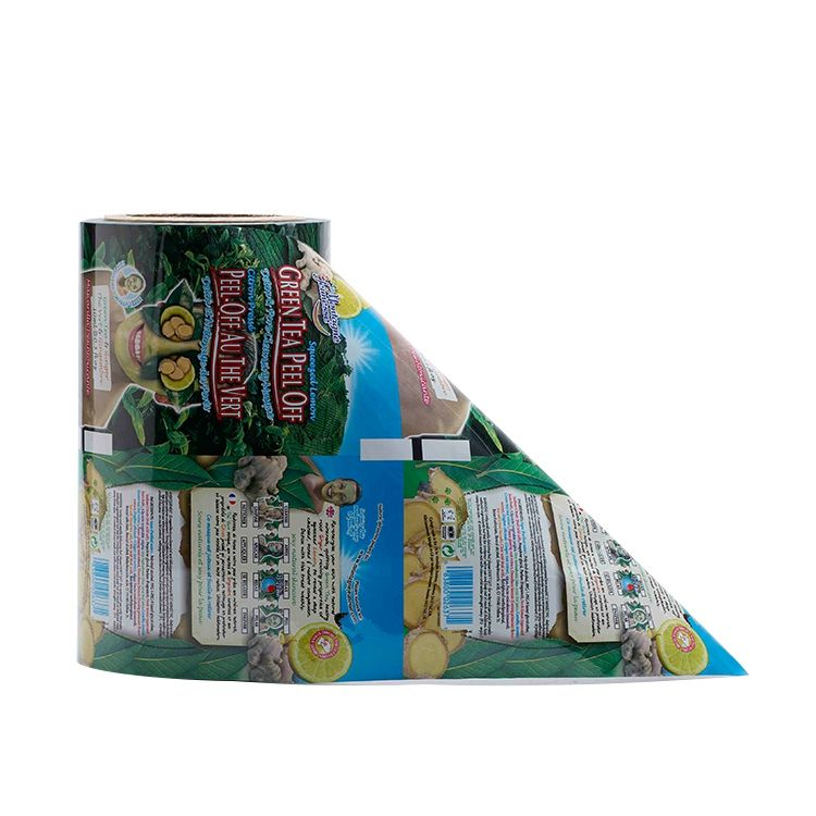 Metalized Clear Plastic Automatic Packing Films Jumbo anti fog film Roll For Food Packaging