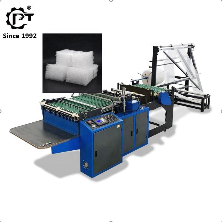 2020 CE air bubble film poly mailer envelope bag making machine