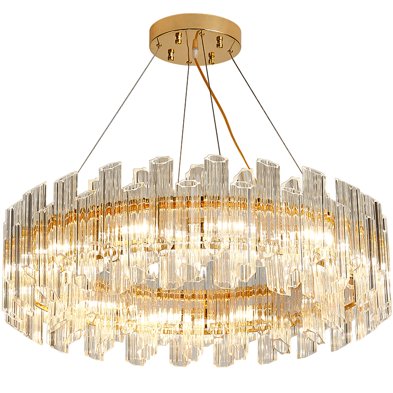 Decoration Classic Modern Pendant Ceiling Fixture Lamp Crystal Luxury Chandeliers Lighting