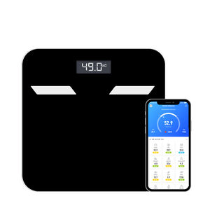 2020 Zhejiang Hangzhou top factory Bluetooth Body Fat Scale Smart BMI Digital Bathroom Wireless Weight Scale