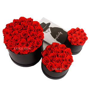 Yunnan Florist Wholesalers Natural Long Life Eternelle Timeless Rose Everlasting Forever Eternal Preserved Flowers