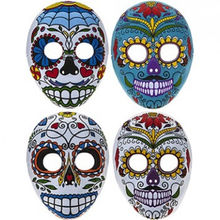 Day Of The Dead Full Face Moulded Felt Mask  Party Halloween  SA4233