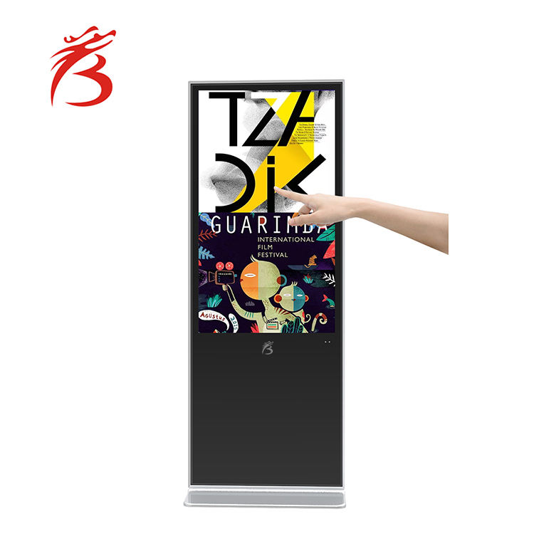 interactive screen board 65 inch lcd display advertising monitor usb video media player for advertising