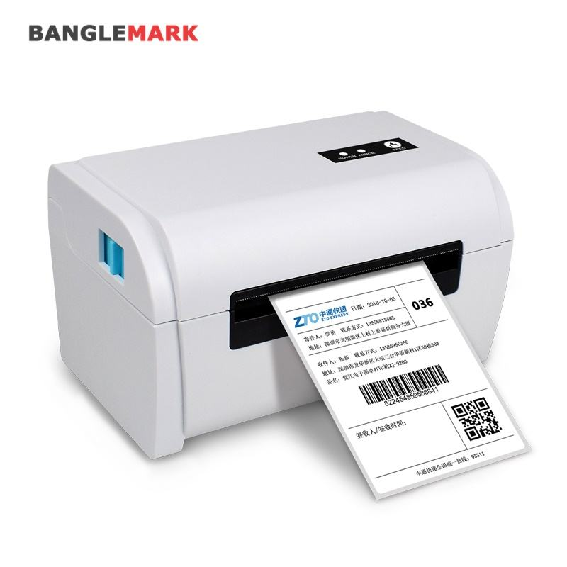 Hoge Snelheid Bluetooth Lan Usb Wifi Thermische Sticker Barcode Verzending Label Printer Voor Mac Os Android Windows