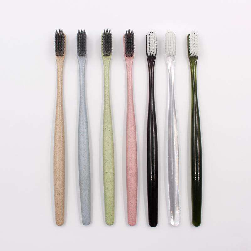 Hot sale soft bristle recycled plastic eco toothbrush