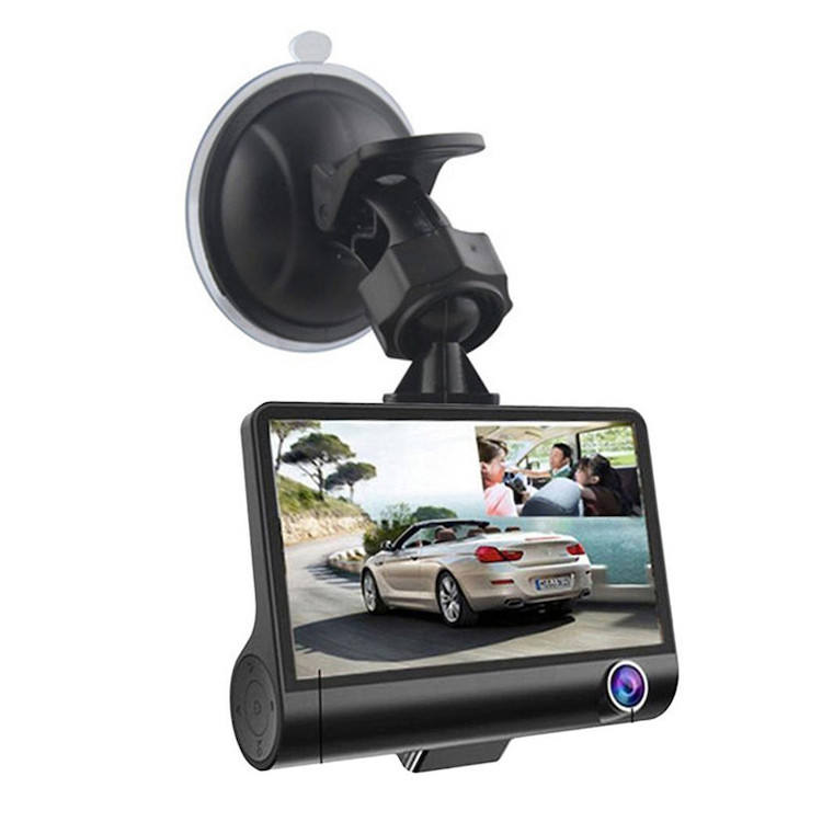 2 in 1 car camera video recorder car camera with 3 lenses