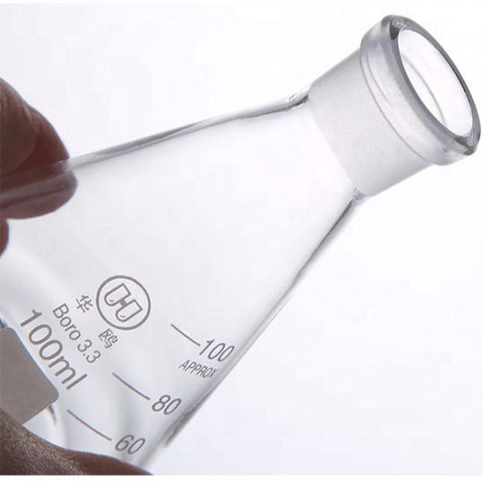Laboratory Equipment Glass Flask Erlenmeyer Flask