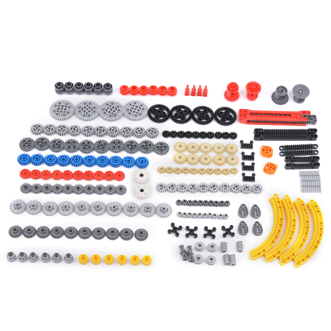 DIY Educational Technic Parts Gearbox Gear Parts Building Block for Legoing Bricks
