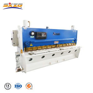 Board 1mm 3000mm q11 12x2500 plate small electric hydraulic shearing machines with e21s nc supplier